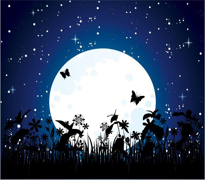 Лунное затмение 8 октября